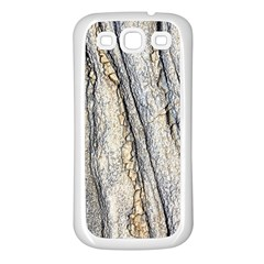 Texture Structure Marble Surface Background Samsung Galaxy S3 Back Case (white)