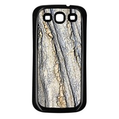 Texture Structure Marble Surface Background Samsung Galaxy S3 Back Case (black)