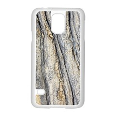 Texture Structure Marble Surface Background Samsung Galaxy S5 Case (white)