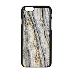 Texture Structure Marble Surface Background Apple Iphone 6/6s Black Enamel Case