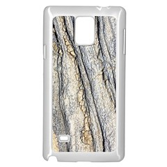 Texture Structure Marble Surface Background Samsung Galaxy Note 4 Case (white)