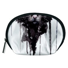 Angry Cat T Shirt Accessory Pouches (medium)