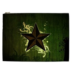 Star Dark Pattern  Cosmetic Bag (xxl)