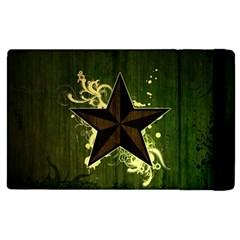 Star Dark Pattern  Apple Ipad Pro 12 9   Flip Case