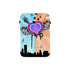 Couple Hugging Heart Apple Ipad Mini Protective Soft Cases