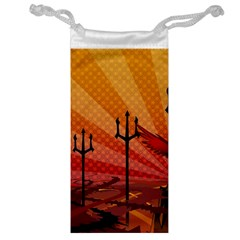 Wings Drawing Poles  Jewelry Bag