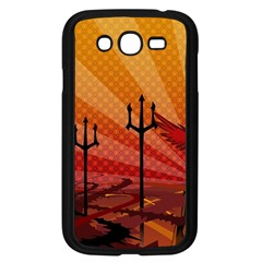 Wings Drawing Poles  Samsung Galaxy Grand Duos I9082 Case (black)