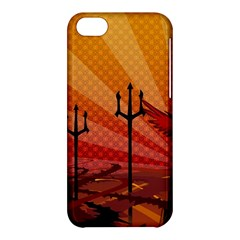 Wings Drawing Poles  Apple Iphone 5c Hardshell Case