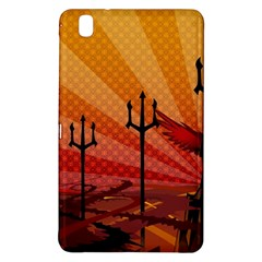 Wings Drawing Poles  Samsung Galaxy Tab Pro 8 4 Hardshell Case