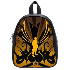 Soldiers Army Line  School Bag (small)