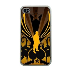 Soldiers Army Line  Apple Iphone 4 Case (clear)