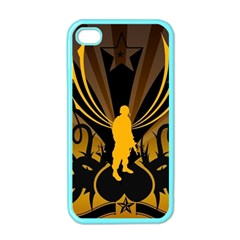 Soldiers Army Line  Apple Iphone 4 Case (color)