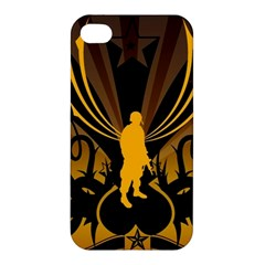 Soldiers Army Line  Apple Iphone 4/4s Hardshell Case