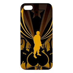 Soldiers Army Line  Iphone 5s/ Se Premium Hardshell Case