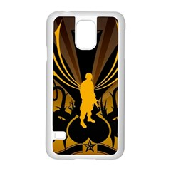 Soldiers Army Line  Samsung Galaxy S5 Case (white)