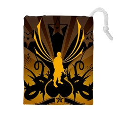 Soldiers Army Line  Drawstring Pouches (extra Large)