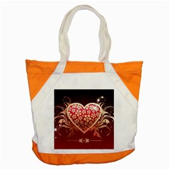Heart Patterns Lines  Accent Tote Bag
