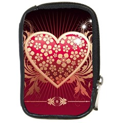 Heart Patterns Lines  Compact Camera Cases