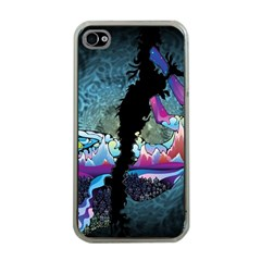 Girl Dress Fly  Apple Iphone 4 Case (clear)