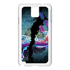 Girl Dress Fly  Samsung Galaxy Note 3 N9005 Case (white)