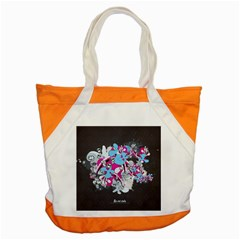 Skulls Ghosts Illustration  Accent Tote Bag