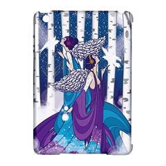 Girl Forest Trees Apple Ipad Mini Hardshell Case (compatible With Smart Cover)