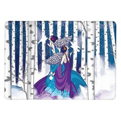 Girl Forest Trees Samsung Galaxy Tab 10 1  P7500 Flip Case