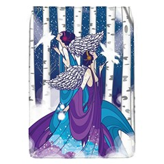 Girl Forest Trees Flap Covers (s)