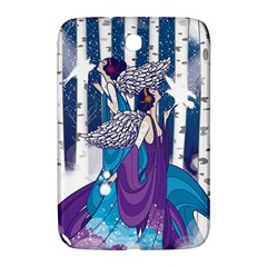 Girl Forest Trees Samsung Galaxy Note 8 0 N5100 Hardshell Case