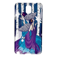 Girl Forest Trees Samsung Galaxy Note 3 N9005 Hardshell Case