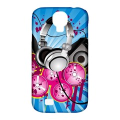 Speakers Headphones Colorful  Samsung Galaxy S4 Classic Hardshell Case (pc+silicone)