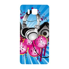 Speakers Headphones Colorful  Samsung Galaxy Alpha Hardshell Back Case
