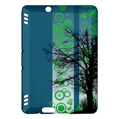 Tree Circles Lines  Kindle Fire Hdx Hardshell Case