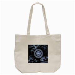 Figure Compound Mechanism  Tote Bag (cream)