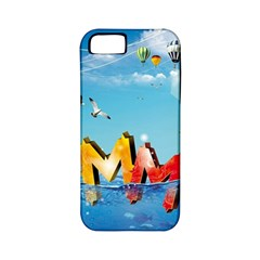 Summer Sea Clouds  Apple Iphone 5 Classic Hardshell Case (pc+silicone)