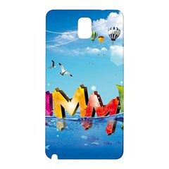 Summer Sea Clouds  Samsung Galaxy Note 3 N9005 Hardshell Back Case