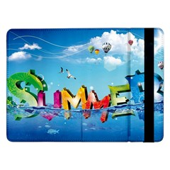 Summer Sea Clouds  Samsung Galaxy Tab Pro 12 2  Flip Case