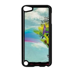 Man Crazy Surreal  Apple Ipod Touch 5 Case (black)