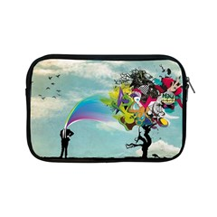 Man Crazy Surreal  Apple Ipad Mini Zipper Cases