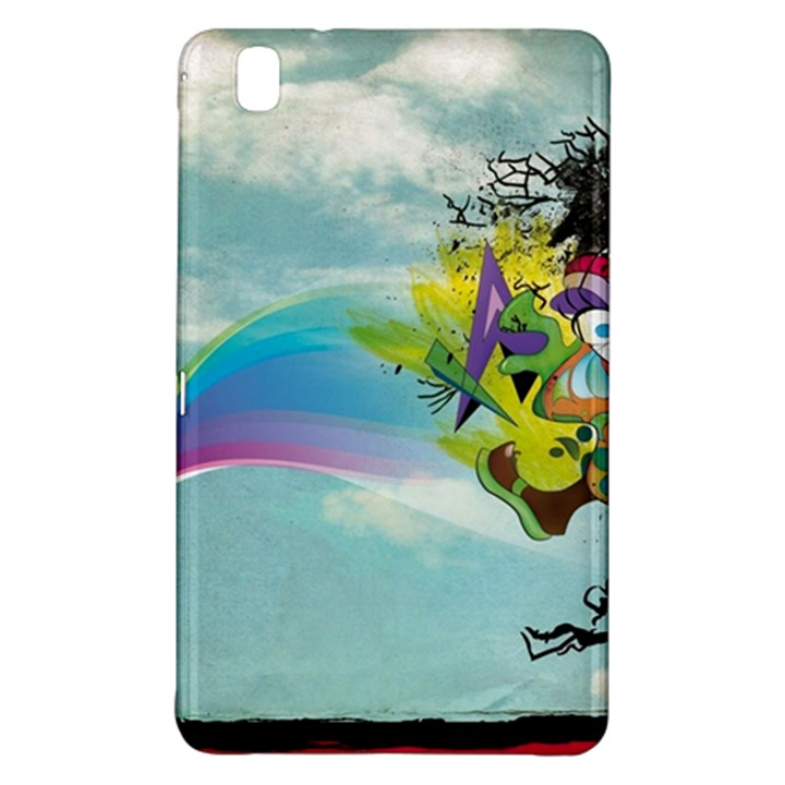 Man Crazy Surreal  Samsung Galaxy Tab Pro 8.4 Hardshell Case