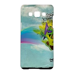 Man Crazy Surreal  Samsung Galaxy A5 Hardshell Case