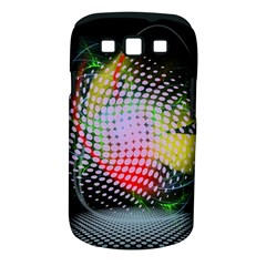 Colorful Lines Dots  Samsung Galaxy S Iii Classic Hardshell Case (pc+silicone)