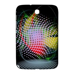 Colorful Lines Dots  Samsung Galaxy Note 8 0 N5100 Hardshell Case
