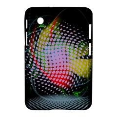 Colorful Lines Dots  Samsung Galaxy Tab 2 (7 ) P3100 Hardshell Case