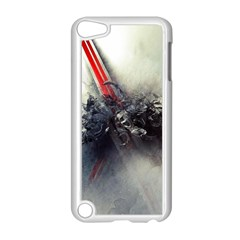 Blast Paint Shadow  Apple Ipod Touch 5 Case (white)