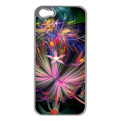Patterns Lines Bright  Apple Iphone 5 Case (silver)