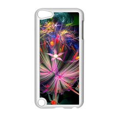 Patterns Lines Bright  Apple Ipod Touch 5 Case (white)