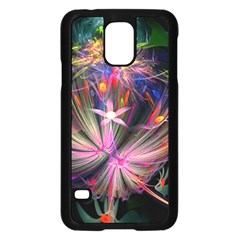 Patterns Lines Bright  Samsung Galaxy S5 Case (black)
