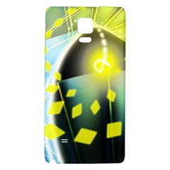 Line Light Form  Galaxy Note 4 Back Case