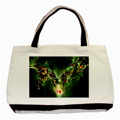 Leaves Explosion Line  Basic Tote Bag (two Sides)